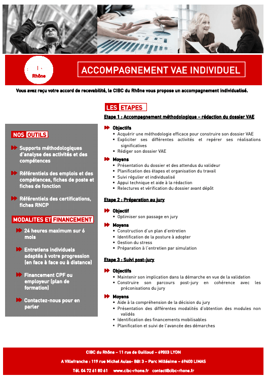 accompagnement VAE individuel