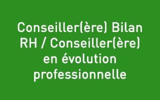 Psychologue du travail Bilan-RH,  Conseiller en évolution professionnelle – H/F – Bourg en Bresse