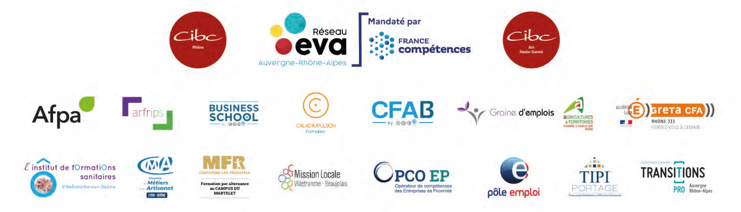 exposants forum de l'évolution professionnelle 2021